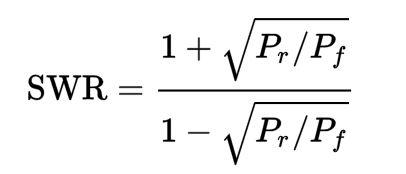vswr-formula