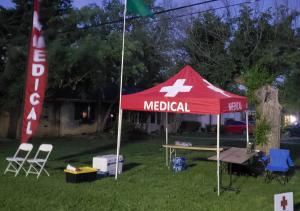 Marathon Medical Tent